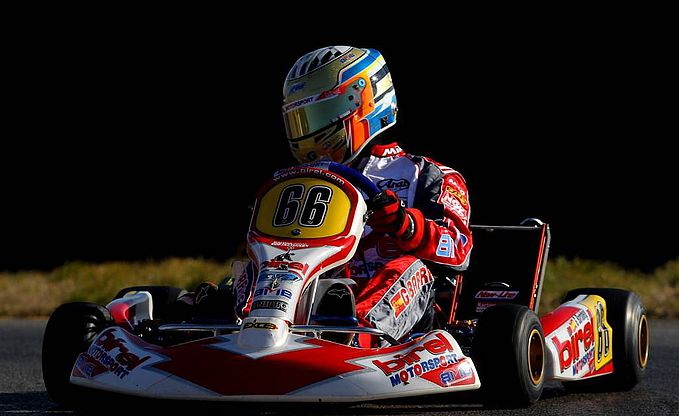small race car