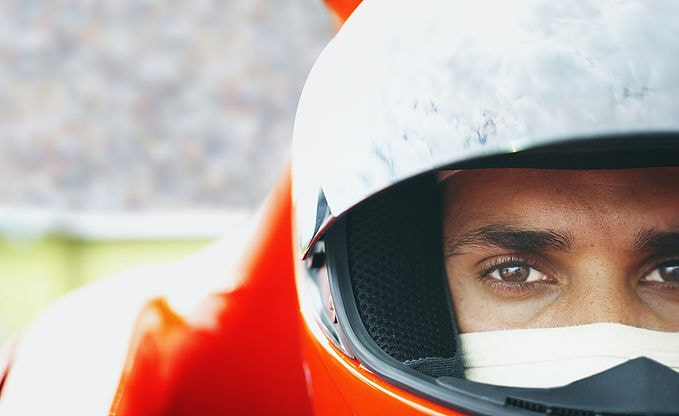racer_close up