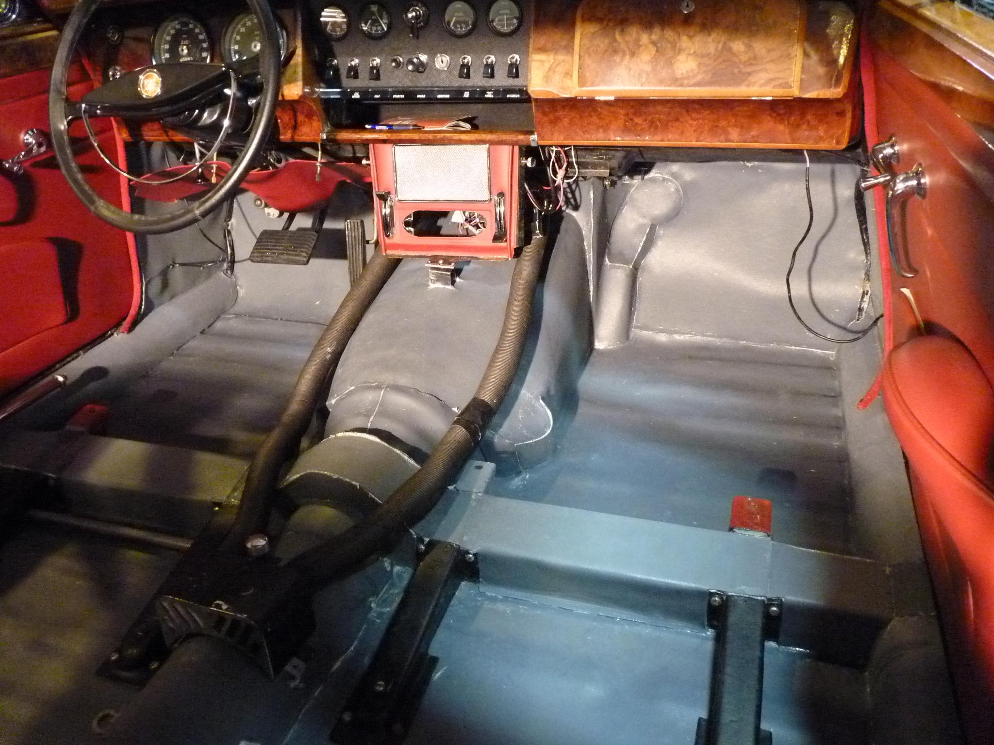 Auto Restoration Heat Protection Kits Koolmat 66 Mustang Fuse Box Contacts 97218 71 74 Jaguar V 12